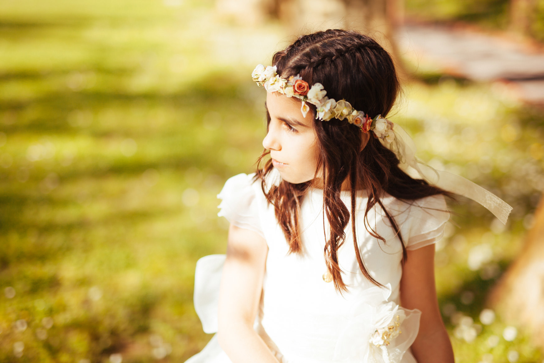 First Holy Communion Photography Kunst Photo & Art | Communion Photo Shoot | Edwin Meijer Portrait Photographer Sopelana