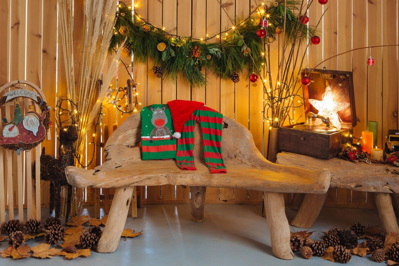 Mini Sesion Navidad. Decorado en estudio Berango, Getxo y Sopelana