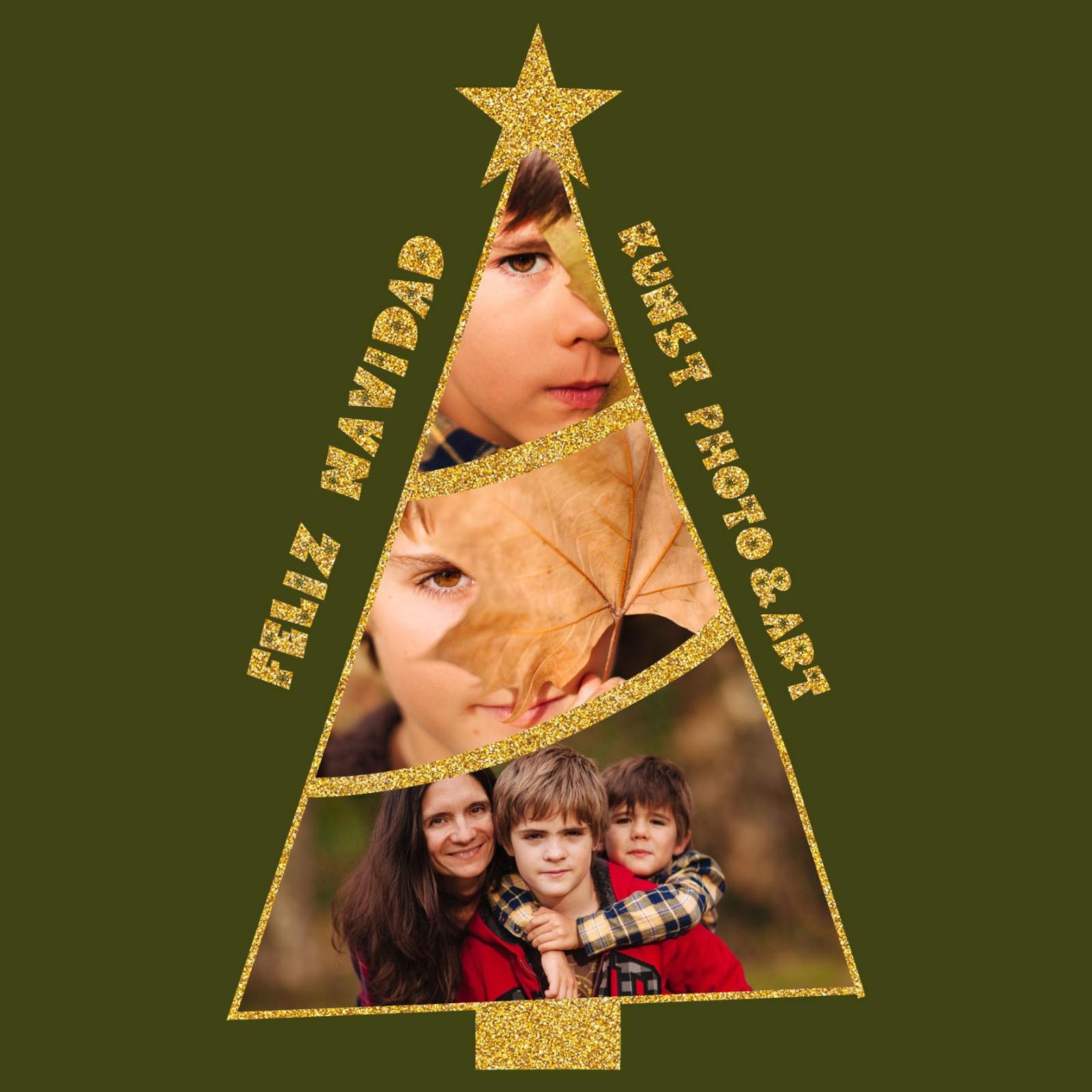 Felicitacion Navidad Estudio Kunst Photo & Art. Fotografo Berango