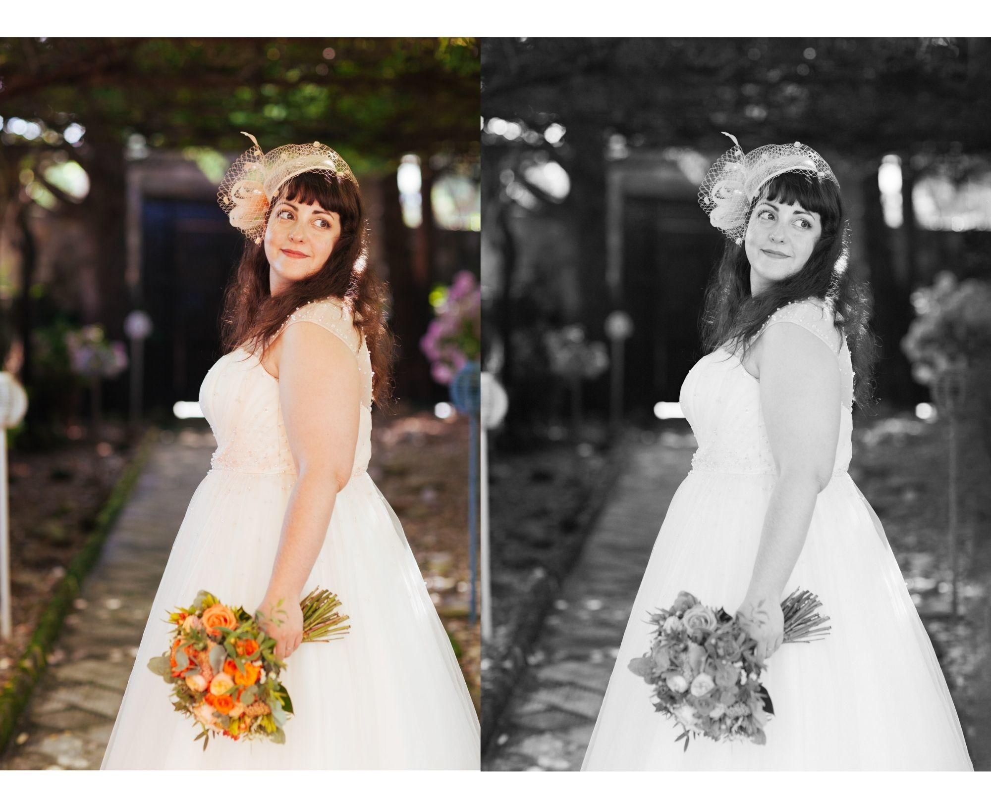 Retrato de la novia. Fotografo de bodas Kunst Photo & Art Barrika
