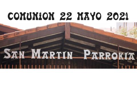 San Martin Algorta Comunión 22-5-2021