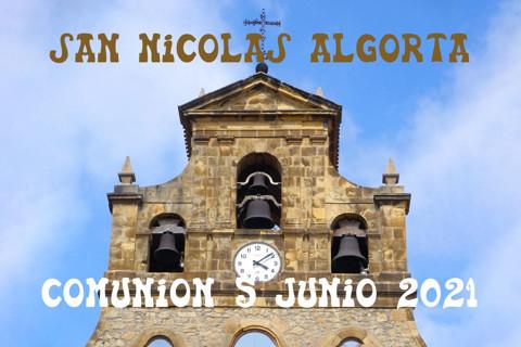 San Nicolas Algorta Comunión 5-6-2021