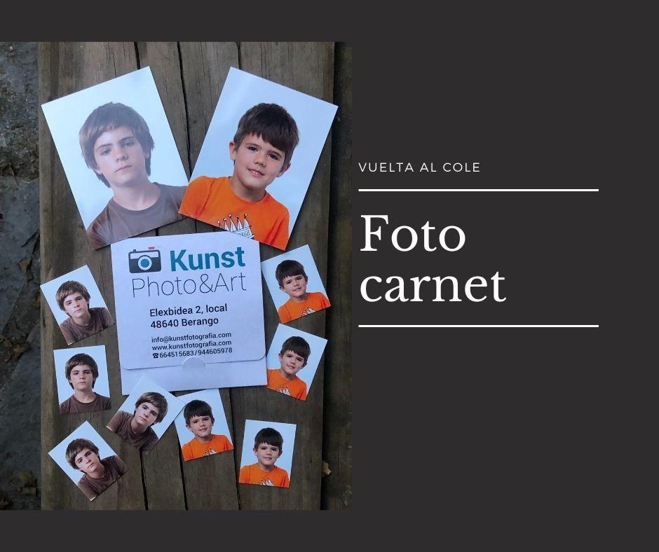 Back to school, carnet photos
