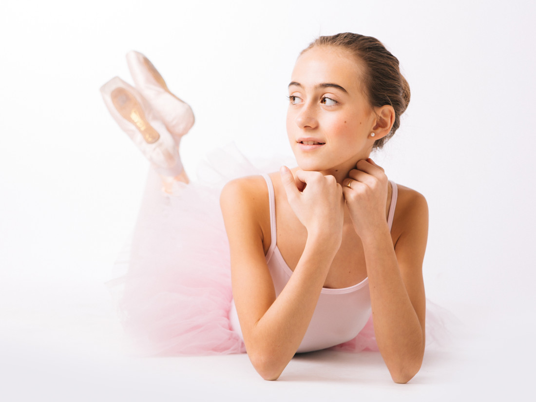 ballet dancer photo session, photo studio Bilbao